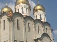 Храм в Харькове. Фальцевая медная кровля