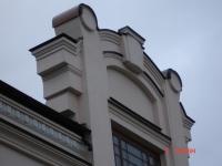 Декоративные элементы фасада из меди классической. Частный жилой дом. Боичев ток, Киев.