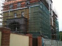 Монтаж медной шашки, частный жилой дом, Киев.