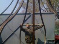 Изготовление металлокаркаса купола
