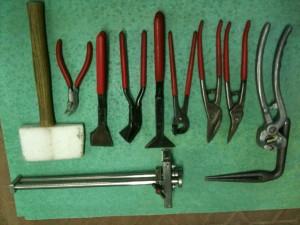 Набор ручного инструмента кровельщика