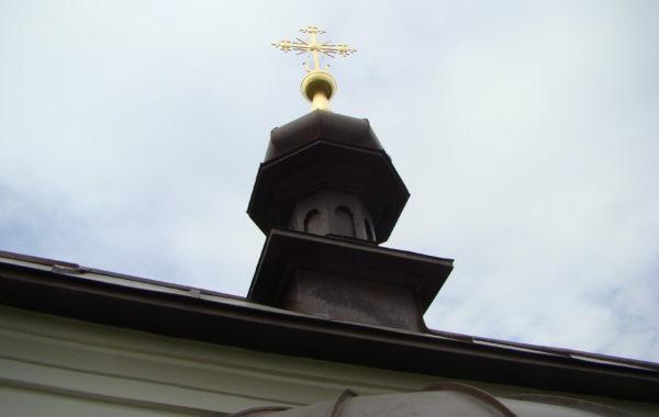 Часовня Свято-Преображенского скита с. Нещеров